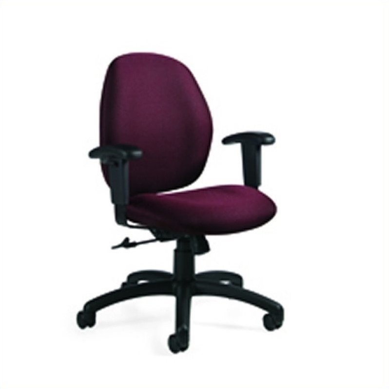 Global Graham Low Back Ergo Tilter Office Chair in Rhapsody