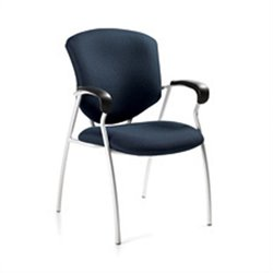Global Supra Guest ArmGuest Chair in Sapphire