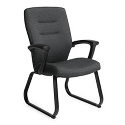 Global Synopsis Guest ArmGuest Chair in Granite Rock