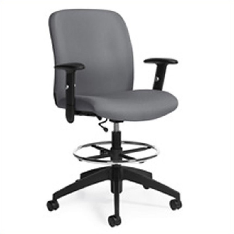 Truform Medium Back Multi Tilter Office Chair in Slate