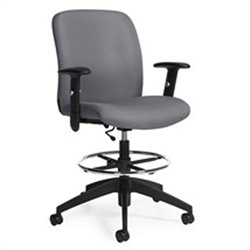 Global Truform Medium Back Multi Tilter Office Chair in Slate