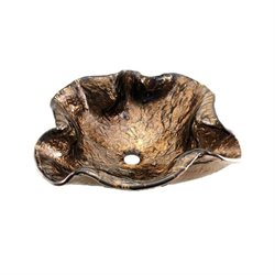 Alina Art Vessel Sink in Cobalt Copper-DISCONTINUED