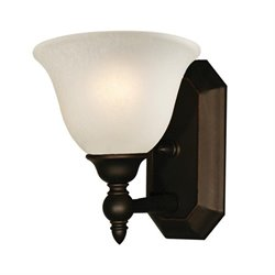 Z-Lite Clayton 1 light Vanity in Bronze