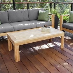 Harmonia Living Ando Patio Coffee Table in Teak