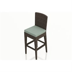 Harmonia Living Arden Outdoor Bar Stool in Chestnut