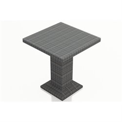 Harmonia Living District Outdoor Bar in Textured Slate