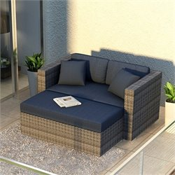 Harmonia Living District Patio Chaise Lounge