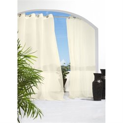 Commonwealth Outdoor Decor Escape Grommet Curtain Panel 1