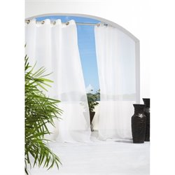 Commonwealth Outdoor Decor Escape Grommet Curtain Panel