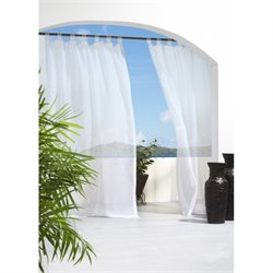 Commonwealth Outdoor Decor Escape Tab Curtain Panel