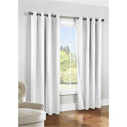 Commonwealth Thermalogic Iron Gate Grommet Curtain Panel