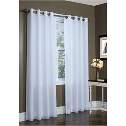 Commonwealth Thermavoile Grommet Curtain Panel