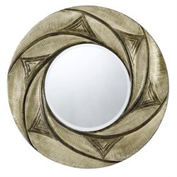 Cal Lighting Poly Urethane Mirror in Metallic and Dark Bronze