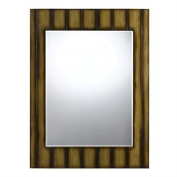 Cal Lighting Poly Urethane Mirror in Teak