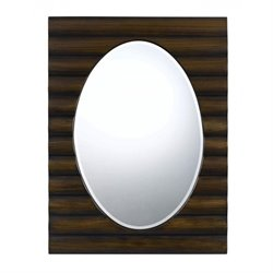 Cal Lighting Poly Urethane Mirror in Dark Bronze