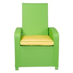 Patio Heaven Santa Fe Patio Chair in Lime Green
