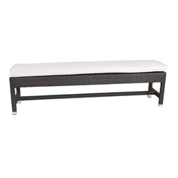 Patio Heaven Signature Patio Bench in Espresso