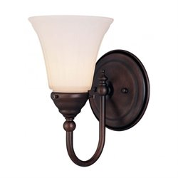 Savoy House Brunswick Bath 1 Light Sconce in English Bronze