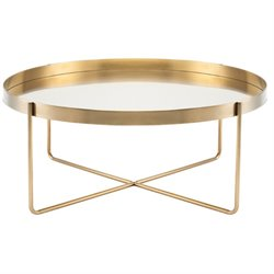 Nuevo Gaultier Metal Coffee Table in Gold