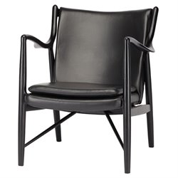 Nuevo Chase Leather Accent Chair