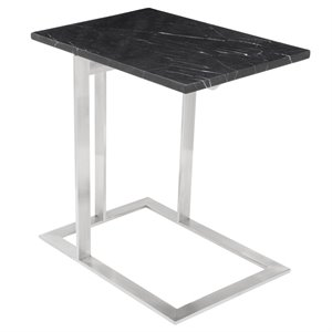 Nuevo Dell Marble Top End Table