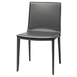 Nuevo Palma Leather Dining Side Chair