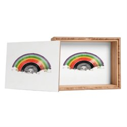 Deny Designs Florent Bodart Rainbow Classics Jewelry Box