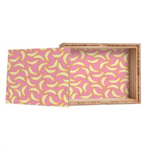 Deny Designs Lisa Argyropoulos Gone Bananas In Pink Jewelry Box