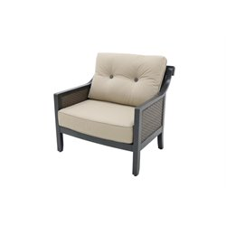 Sunvilla Belize Wicker Patio Lounge Chair in Sand