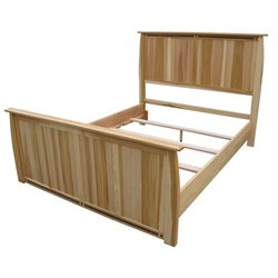 A-America Adamstown Queen Panel Bed in Natural