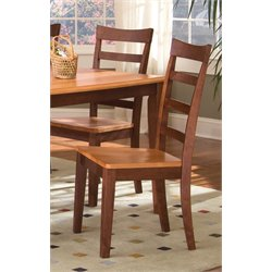 A-America Bristol Point Dining Chair in Chestnut