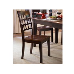 A-America Bristol Point Dining Chair in Espresso
