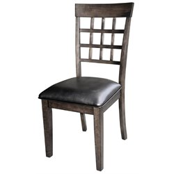 A-America Bristol Point Dining Chair in Warm Gray