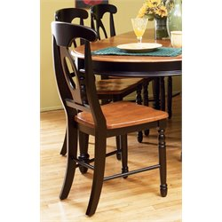 A-America British Isles Napoleon Dining Chair in Espresso