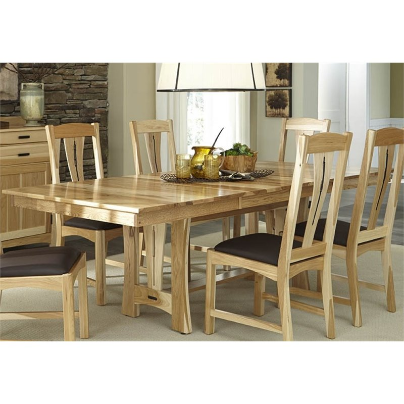 A-America Cattail Bungalow Extendable Dining Table in Natural