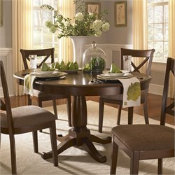 A-America Desoto Oval Extendable Dining Table
