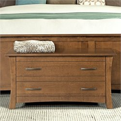 A-America Grant Park Blanket Chest in Pecan