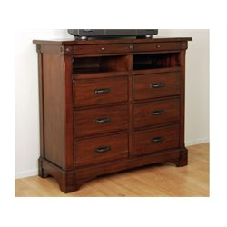 A-America Kalispell Media Chest in Mahogany