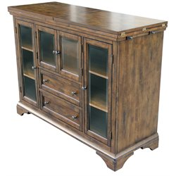 A-America Mariposa Sideboard in Rustic Whiskey