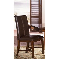 A-America Mesa Rustica Upholstered Dining Chair in Mahogany