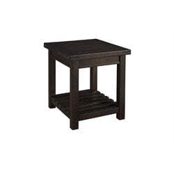 A-America Sundance End Table in Mahogany