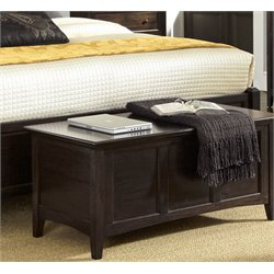 A-America Westlake Blanket Chest in Dark Mahogany