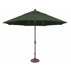 SimplyShade Lanai Pro Patio Umbrella in Forest Green