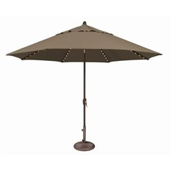 SimplyShade Lanai Pro Patio Umbrella in Taupe