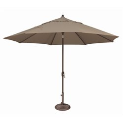 SimplyShade Lanai Patio Umbrella in Cocoa
