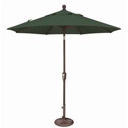 SimplyShade Catalina Patio Umbrella in Forest Green
