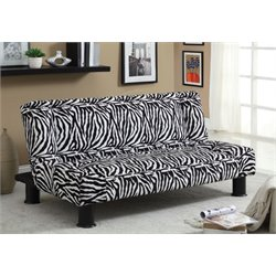 Furniture of America Delina Fabric Sleeper Sofa Bed