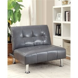 Hollie Faux Leather Accent Chair