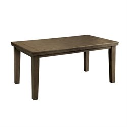Furniture of America Centen Dining Table in Gray
