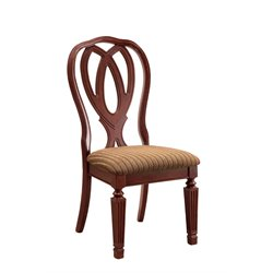Furniture of America Grabel Dining Chair in Cherry (Set of 2)